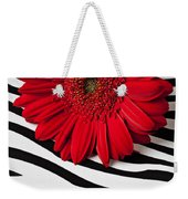 Red Mum And Red Lips Weekender Tote Bag