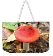 Red Mushroom 2 Weekender Tote Bag