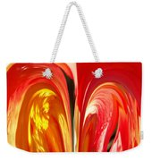 Red N Yellow Flowers 4 Weekender Tote Bag