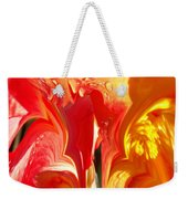 Red N Yellow Flowers 5 Weekender Tote Bag