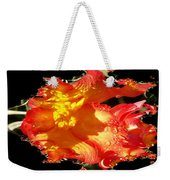 Red N Yellow Flowers Weekender Tote Bag