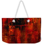 Red Odyssey Weekender Tote Bag