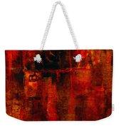 Red Odyssey Weekender Tote Bag