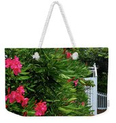 Red Oleander Arbor Weekender Tote Bag