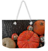 Red Orange Weekender Tote Bag