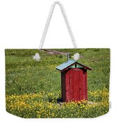 Red Outhouse 3 Weekender Tote Bag