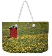 Red Outhouse 6 Weekender Tote Bag