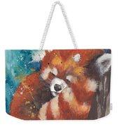 Red Panda Sleeping Weekender Tote Bag