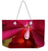 Red Passion Orchid Weekender Tote Bag