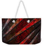 Red Pepper Abstract Weekender Tote Bag
