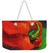 Red Pepper Still Life Weekender Tote Bag