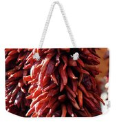 Red Peppers Weekender Tote Bag