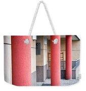 Red Pillars Weekender Tote Bag