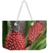 Red Pineapples Weekender Tote Bag