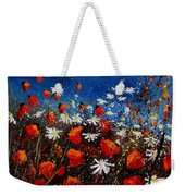 Red Poppies 451108 Weekender Tote Bag