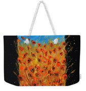 Red Poppies 6771 Weekender Tote Bag