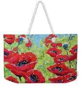 Red Poppies By Prankearts Weekender Tote Bag