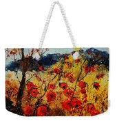 Red Poppies In Provence  Weekender Tote Bag