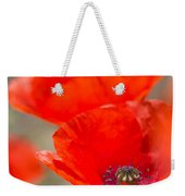 Red Poppy For Remembrance Weekender Tote Bag
