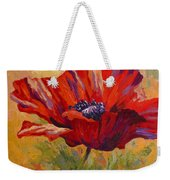 Red Poppy II Weekender Tote Bag