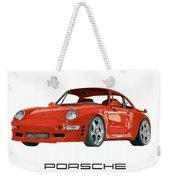 1997  Porsche 993 Twin Turbo R Weekender Tote Bag