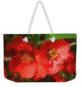 Red Quince Weekender Tote Bag