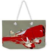 Red Racer Weekender Tote Bag