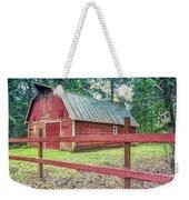 Red Rail Barn Weekender Tote Bag