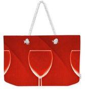 Red Red Wine Weekender Tote Bag