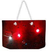 Red Reflection Weekender Tote Bag