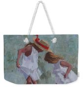 Red Ribbon Weekender Tote Bag