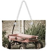 Red Rider Weekender Tote Bag