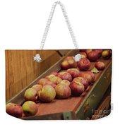 Red Ripe Macintosh Apples Weekender Tote Bag