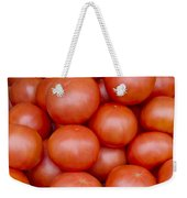 Red Ripe Tomatoes Weekender Tote Bag by John Trax