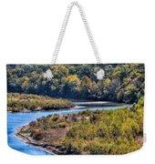 Red River Bend Weekender Tote Bag