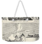 Red River Rebellion, 1870 Weekender Tote Bag