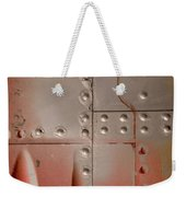 Red Rivets Weekender Tote Bag