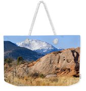 Red Rock And Pikes Peak Weekender Tote Bag