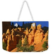 Red Rock Canoyon At Sunset Weekender Tote Bag