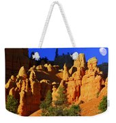 Red Rock Canoyon Moonrise Weekender Tote Bag