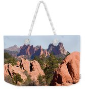 Red Rock Canyon Open Space Park And Garden Of The Gods Weekender Tote Bag