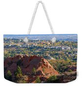 Red Rock Canyon Rock Quarry And Colorado Springs Weekender Tote Bag