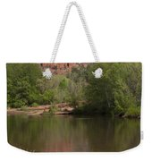 Red Rock Crossing In Sedona Weekender Tote Bag by Sandra Bronstein