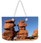 Red Rock Formation  Weekender Tote Bag