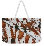 Red Rock Greenery Weekender Tote Bag