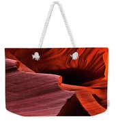 Red Rock Inferno Weekender Tote Bag