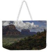Red Rock Of Sedona Arizona Weekender Tote Bag