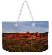 Red Rock Peaks 23 Weekender Tote Bag
