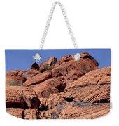 Red Rock Texture Weekender Tote Bag