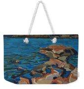 Red Rocks And Pooled Water Weekender Tote Bag